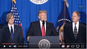 Via President Trump Speeches and Events YouTube Page