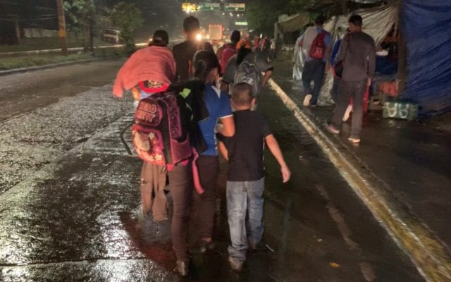 New migrant caravan leaves Honduras for journey to US border