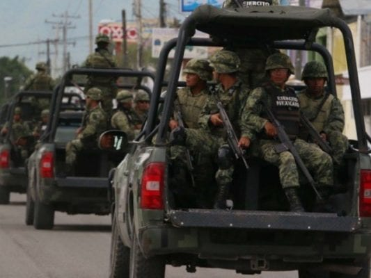 Mexico Deploys More Forces to Its Southern Border to Combat Crime amid Caravans