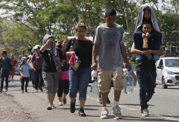 Trump moves to cut aid to Central America, amid caravans and flood of refugees