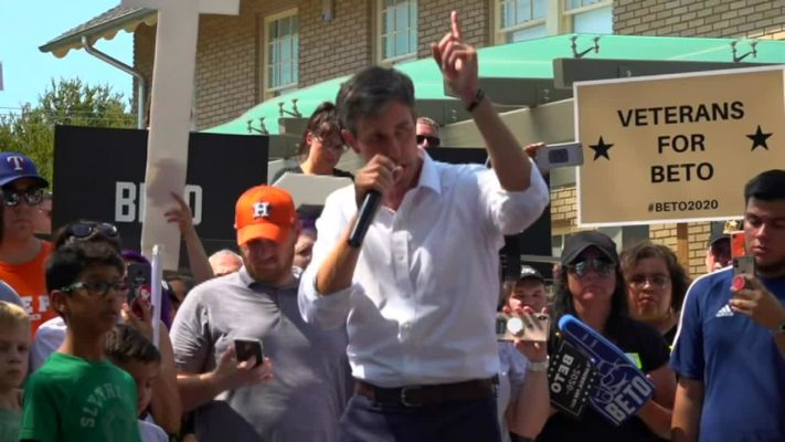 O'Rourke claims Trump has 'blood... on his hands' after El Paso mass shooting